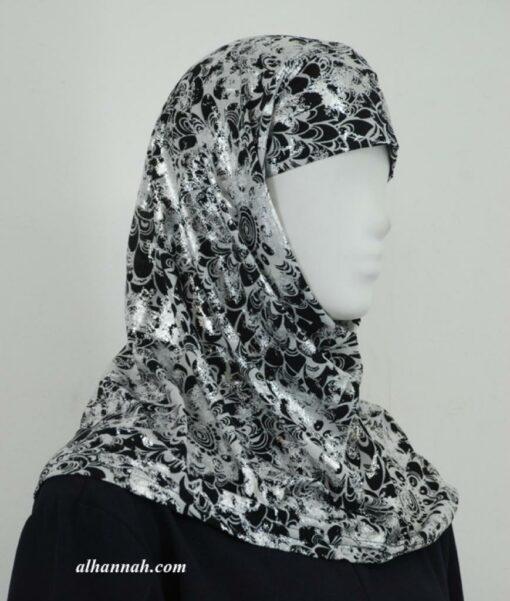 Floral Print Al Amirah Hijab hi1925
