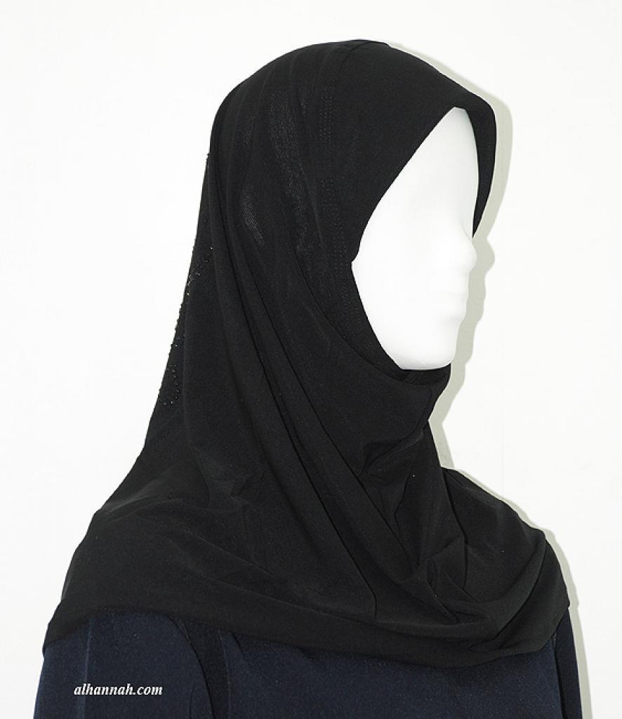Al-Amirah One Piece Beaded Hijab hi1929