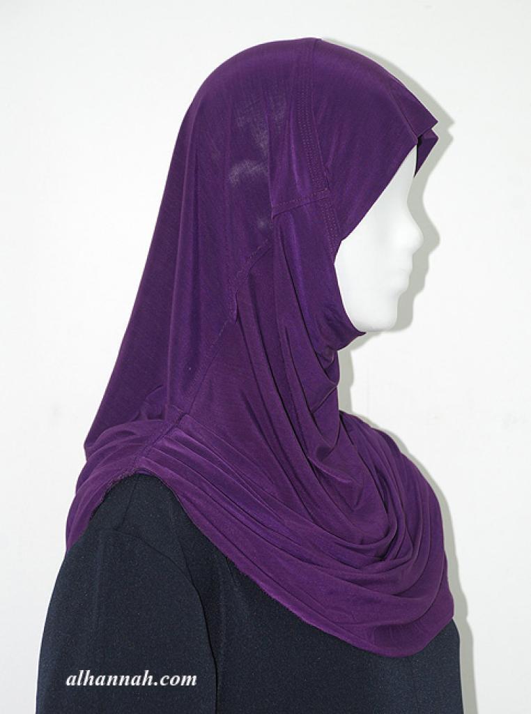 One Piece Ruched-look Al Amirah Hijab hi1933
