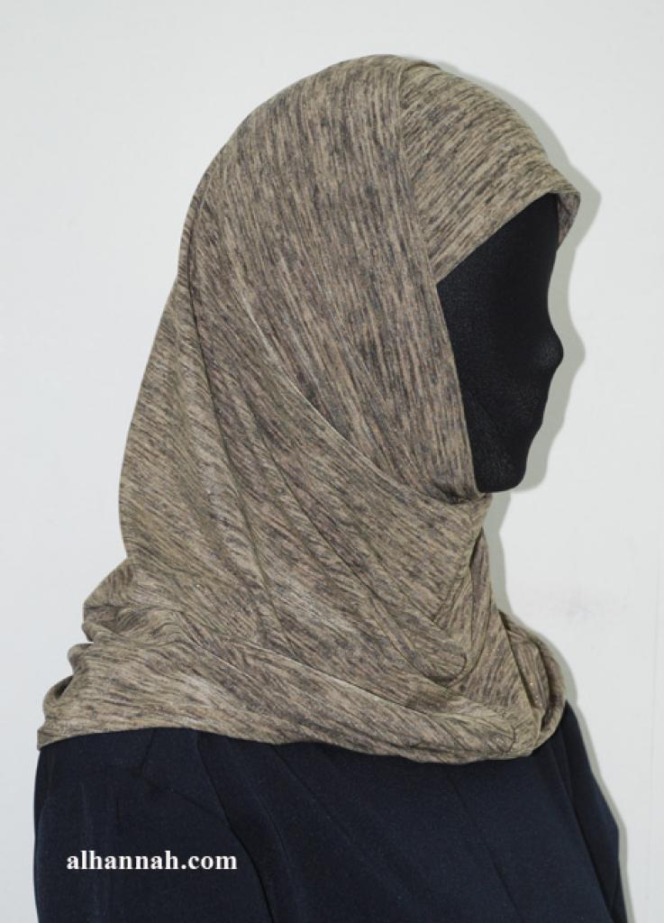 Two Piece Printed Al Amirah Hijab hi1941
