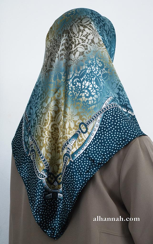 Turkish Printed Floral Hijab hi2003