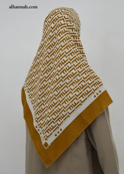 Printed Womens Square Hijab Scarf hi2021