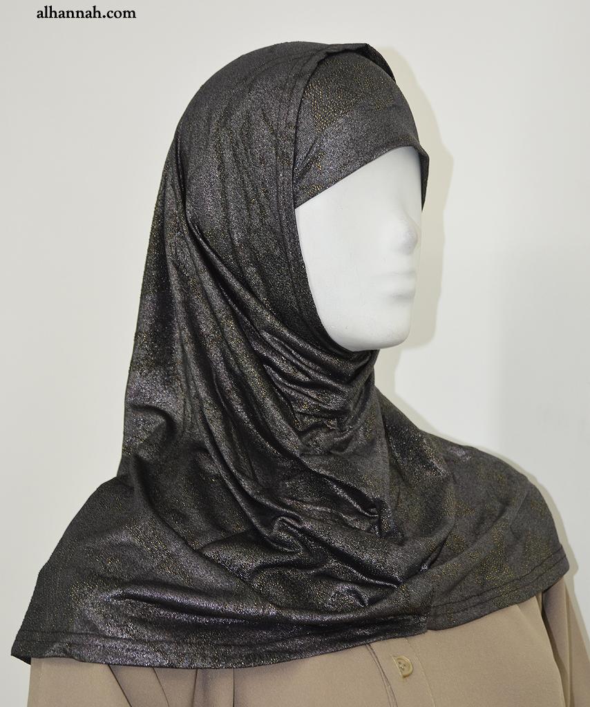 AlAmirah Hijab Metallic Tone hi2044