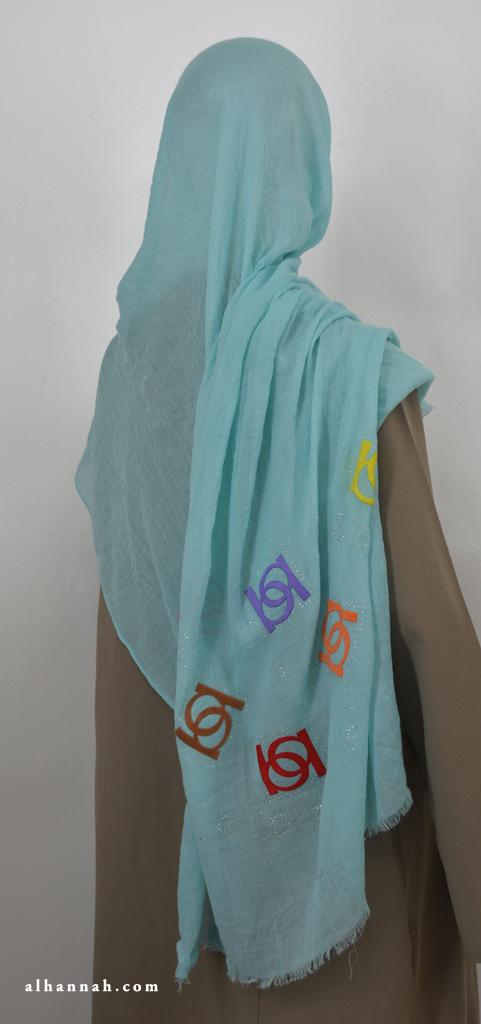 Oversized Muslim Wrap hi2073