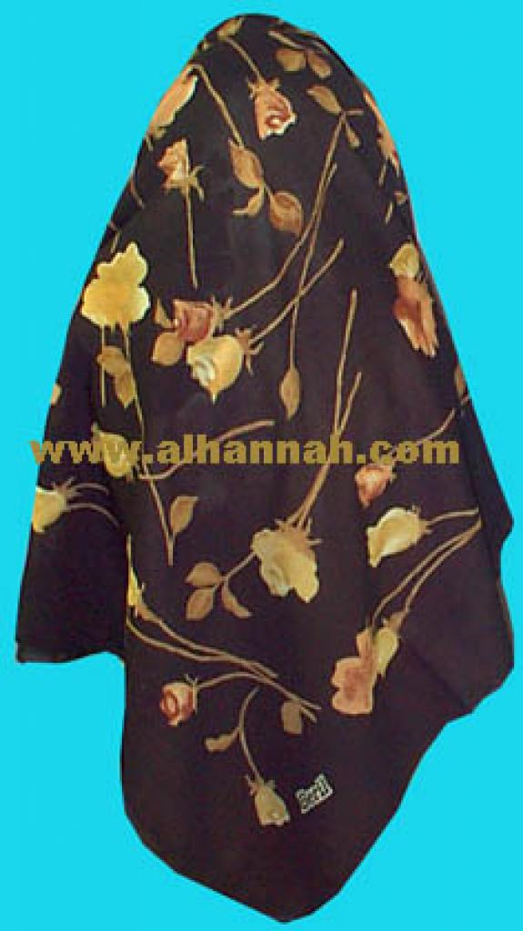 6 Pack - Glitter Rose Hijab Pins hi301