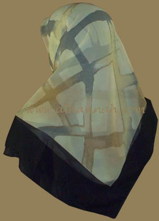 Lightweight Georgette Hijab hi500
