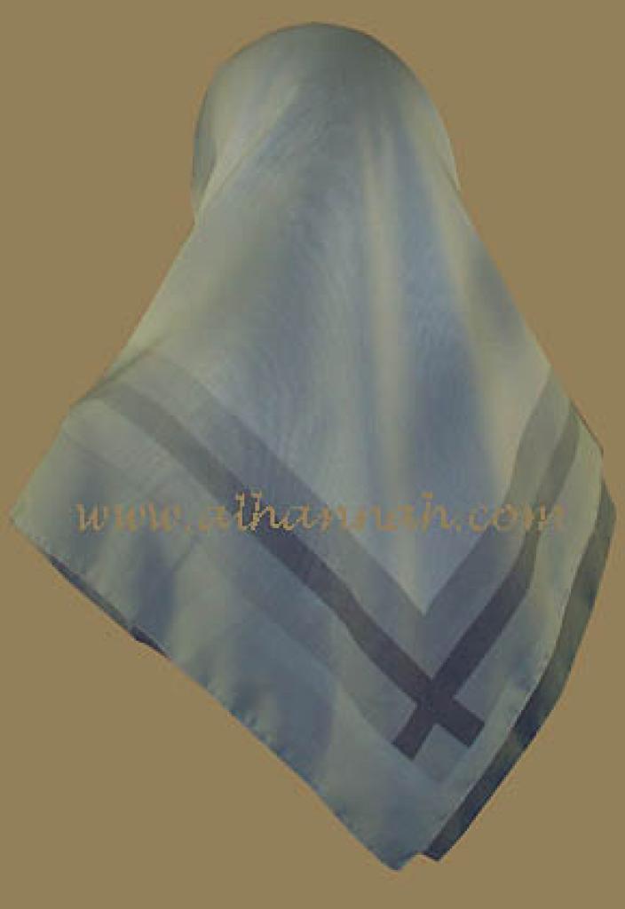 Tri-shade Turkish Gauze Hijab hi503
