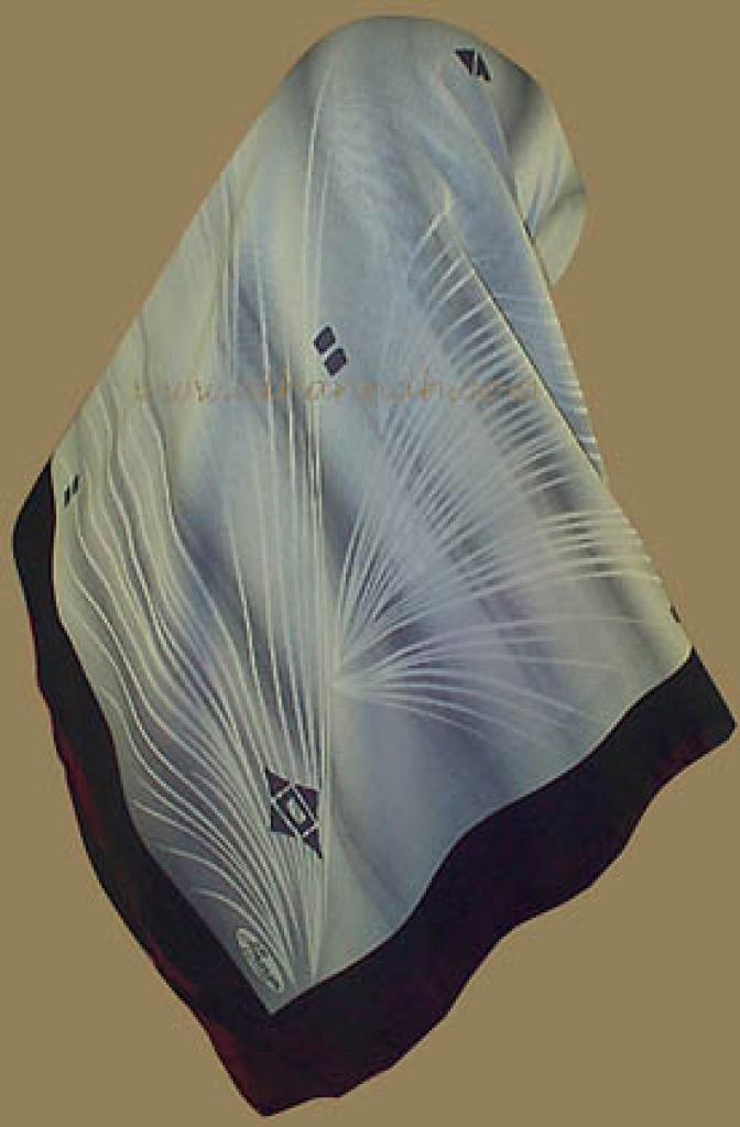 Modern Print Turkish Gauze Hijab hi505