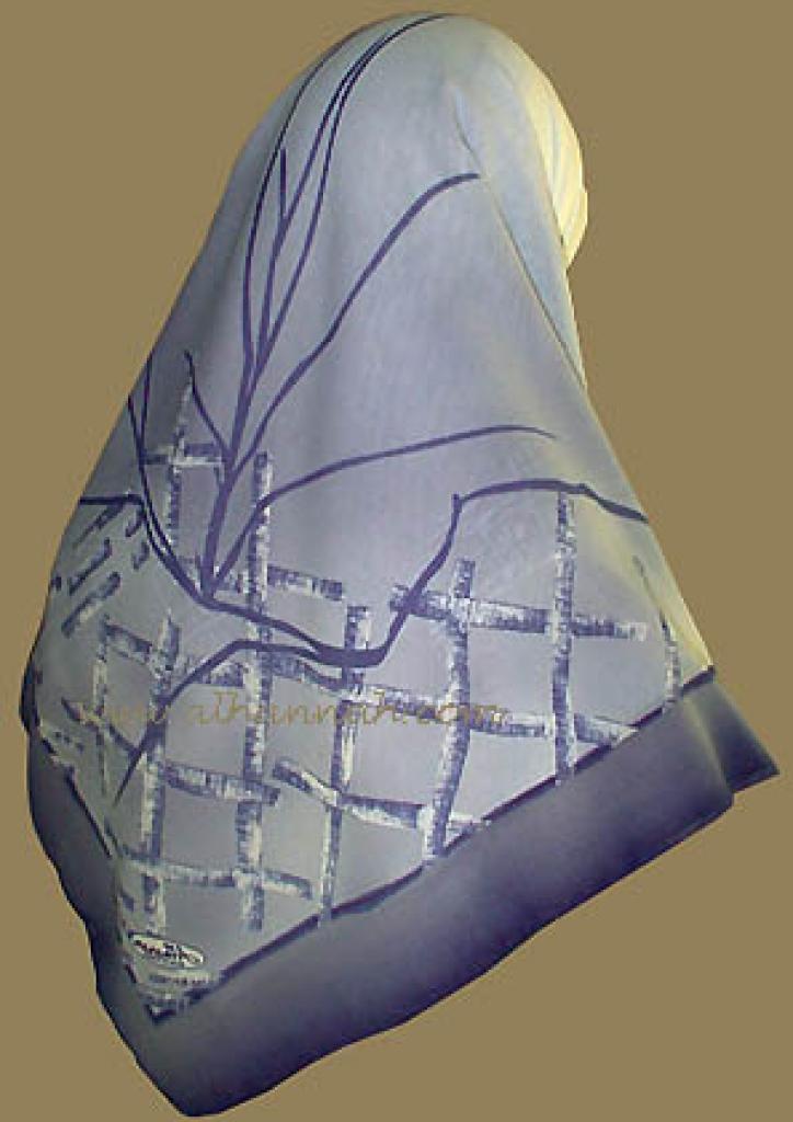 Exotic Print Turkish Gauze Hijab hi511