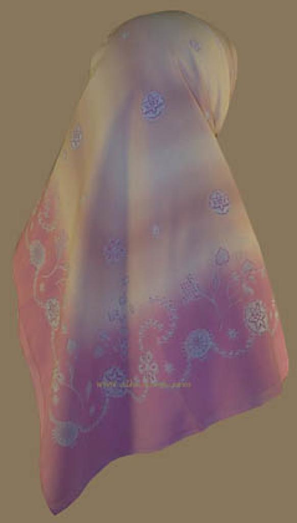 Turkish Gauze  hijab hi715