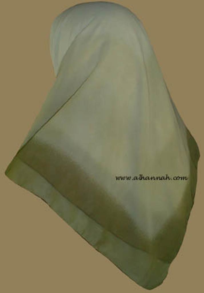 Tri-tone Jordanian  Hijab   hi800