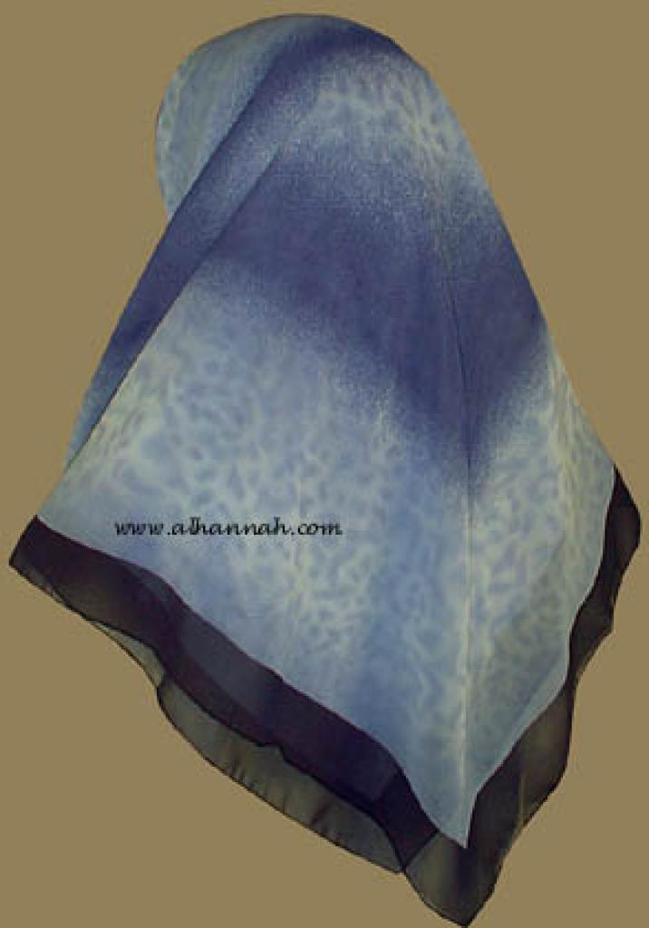 Tri-tone Jordanian  Hijab   hi801