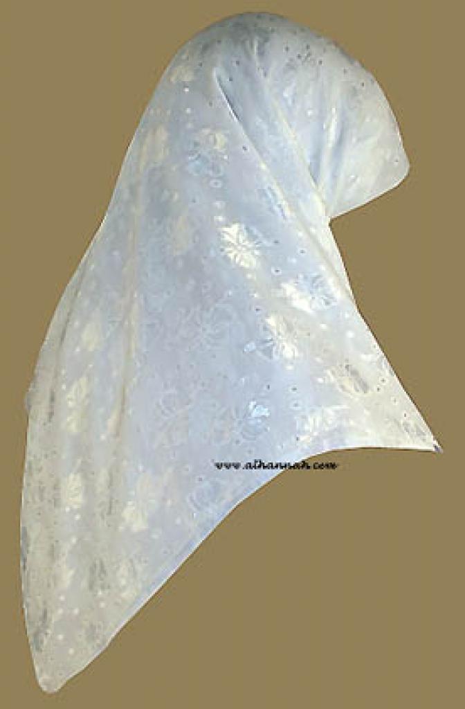 Turkish Jacquard Hijab hi813