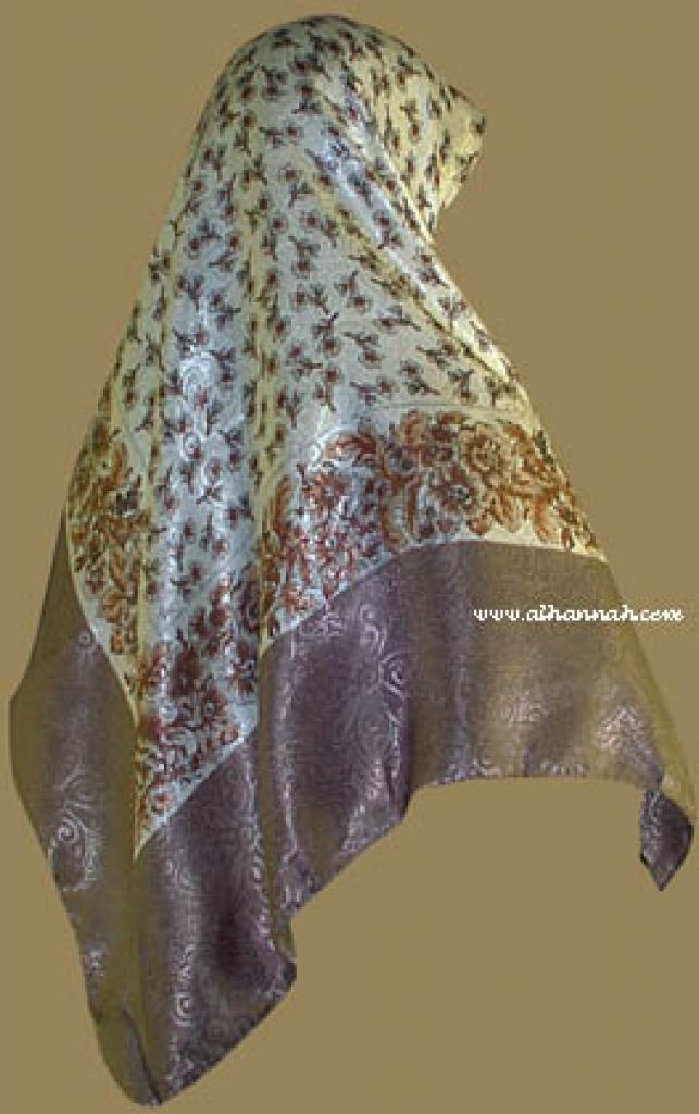 Italian Style Reversable Hijab hi822