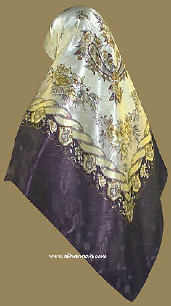 Italian Style Reversable Hijab hi823