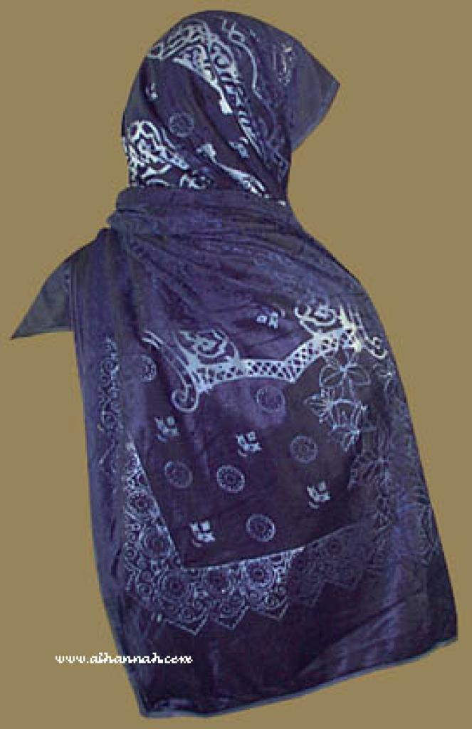 Burnt Velvet Shayla (oblong scarf)  hi825