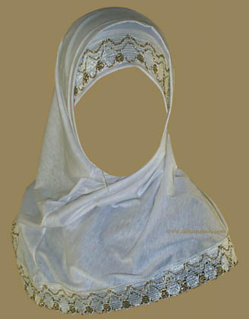 Two Piece Religious Veil hi826