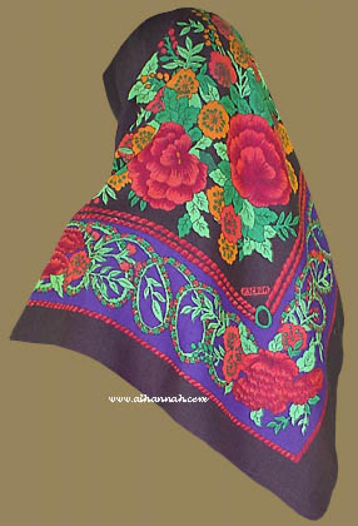 Oversized Cotton Hijab hi829