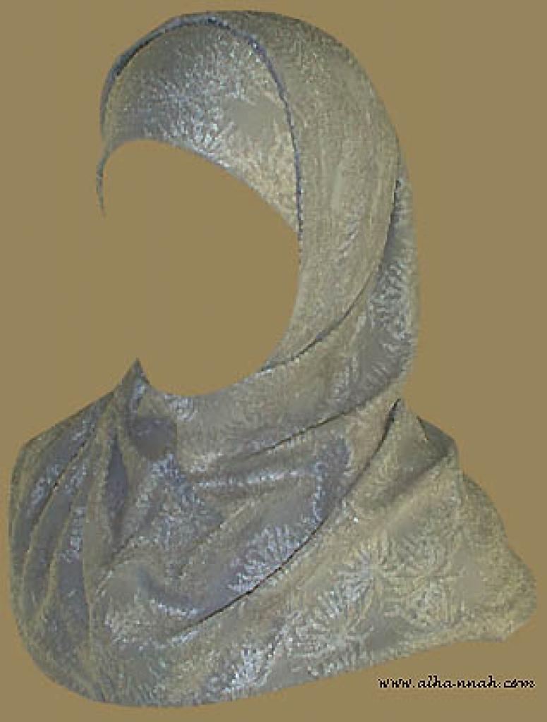 Two Piece Religious Veil hi831