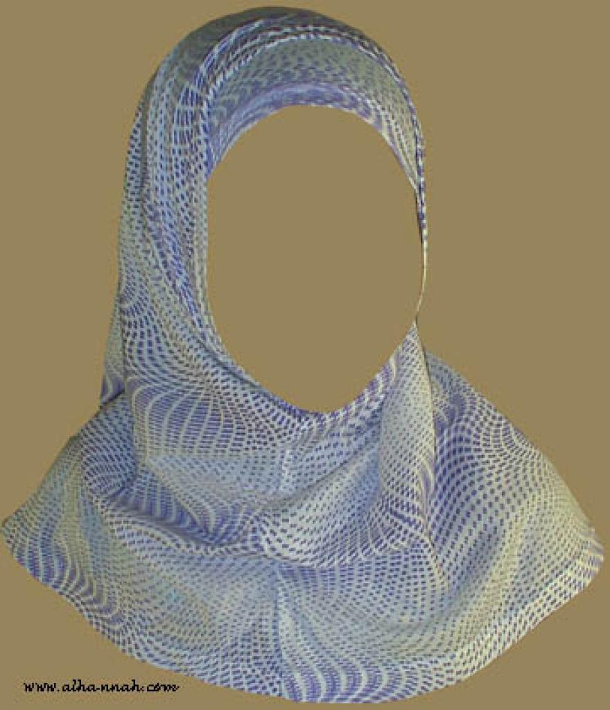 Two Piece Religious Veil hi832