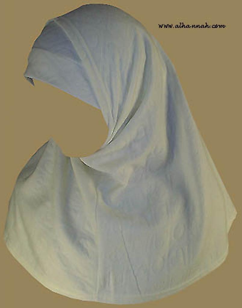 Two Piece Religious Veil hi843