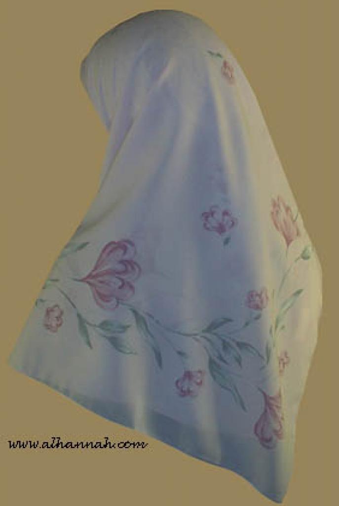 Classic Turkish Gauze Hijab hi845