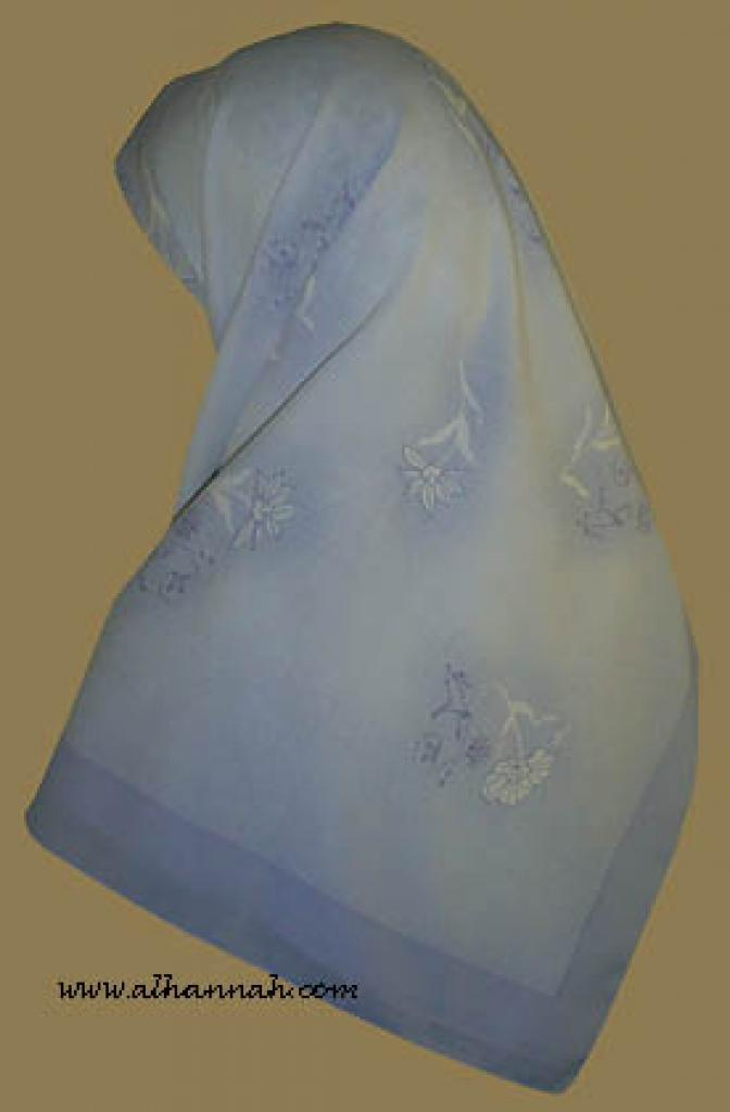 Classic Turkish Gauze Hijab hi855