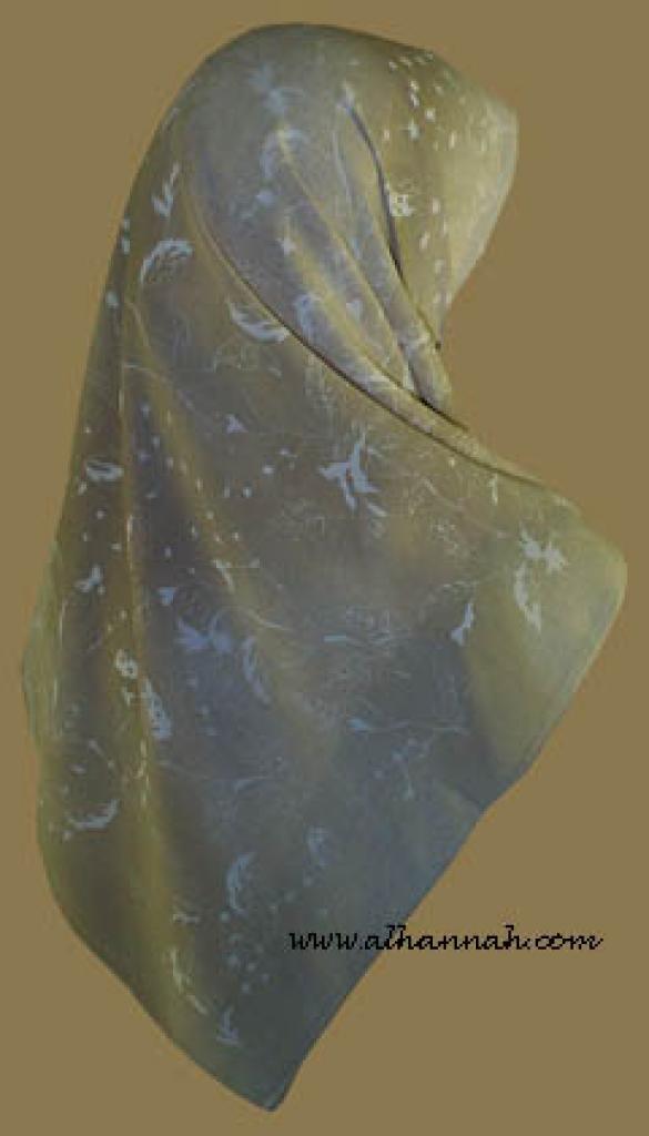 Classic Turkish Gauze Hijab hi856