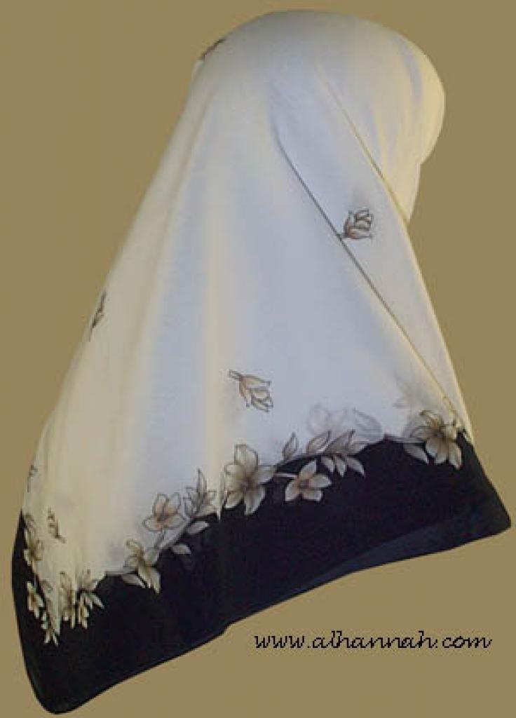 Classic Turkish Gauze Hijab   hi857