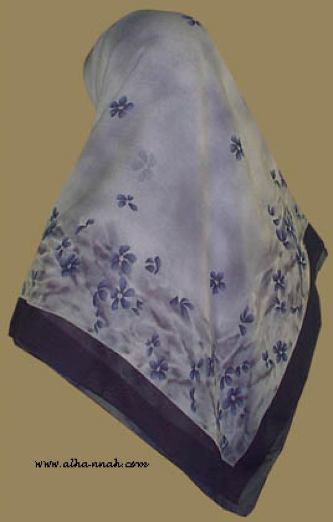 Classic Turkish Gauze Hijab   hi859