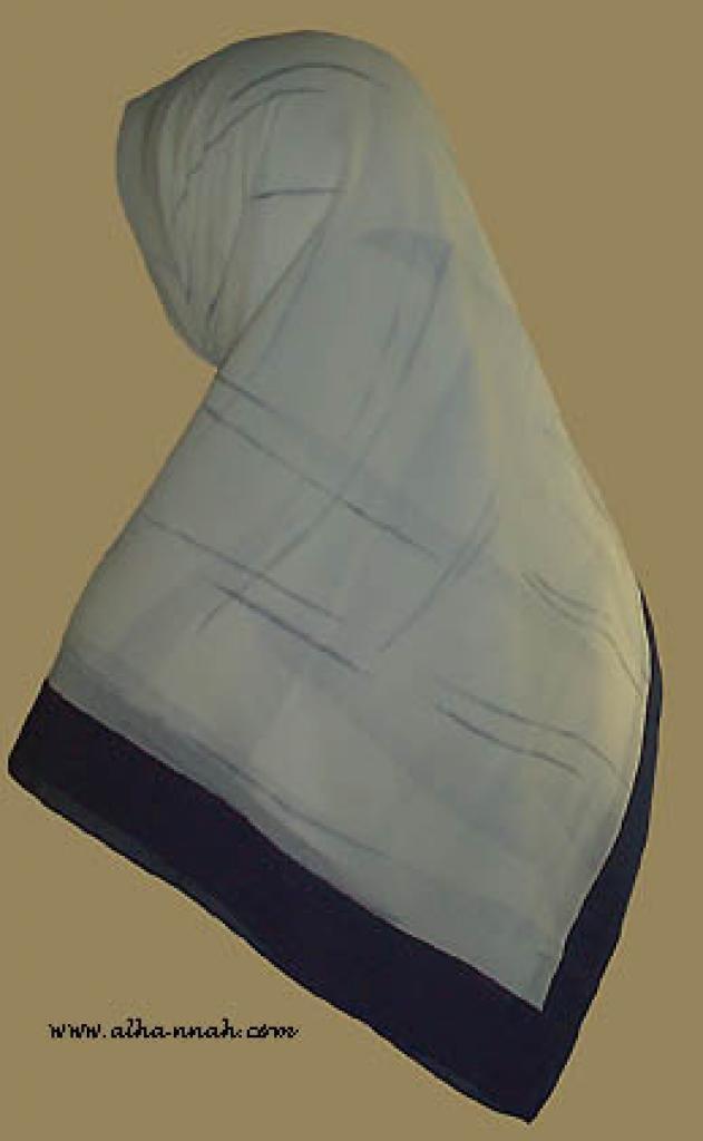 Classic Turkish Gauze Hijab   hi873