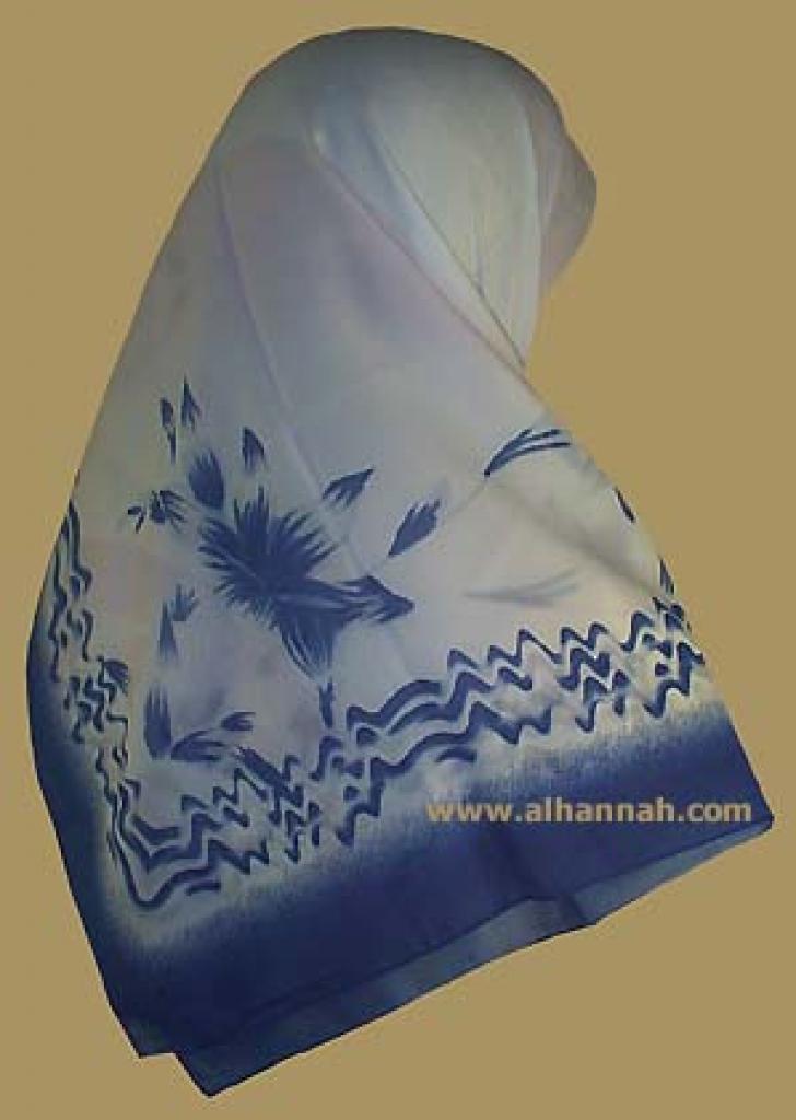 Georgette Chiffon Hijab  hi895