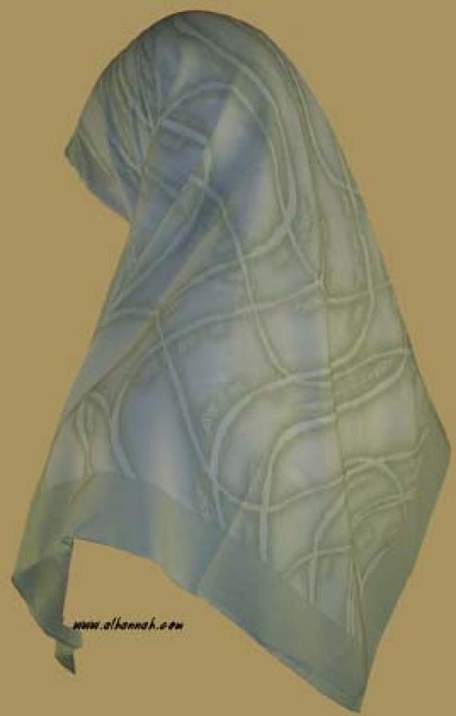 Georgette Chiffon Hijab   hi918
