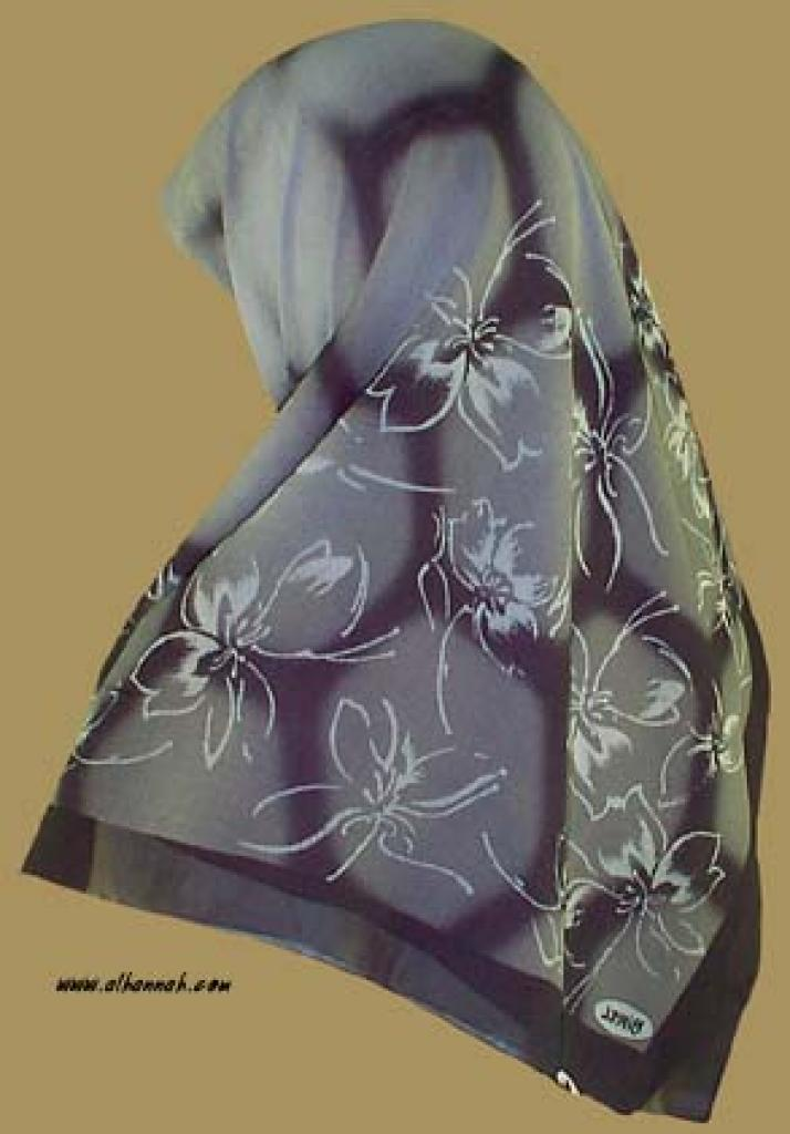Georgette Chiffon Hijab   hi921