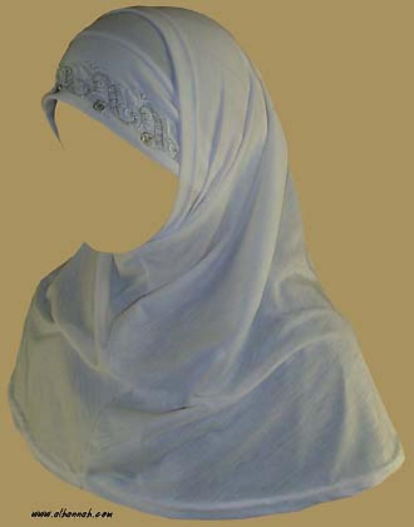 Two Piece Religious Veil  hi923