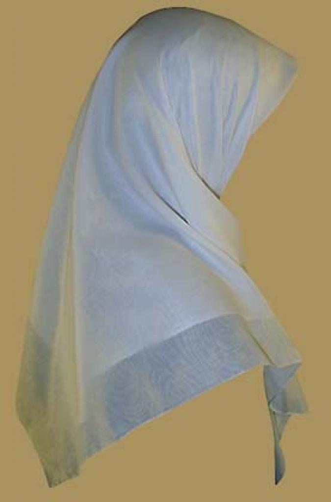 Classic Cotton Middle Eastern Hijab  hi929