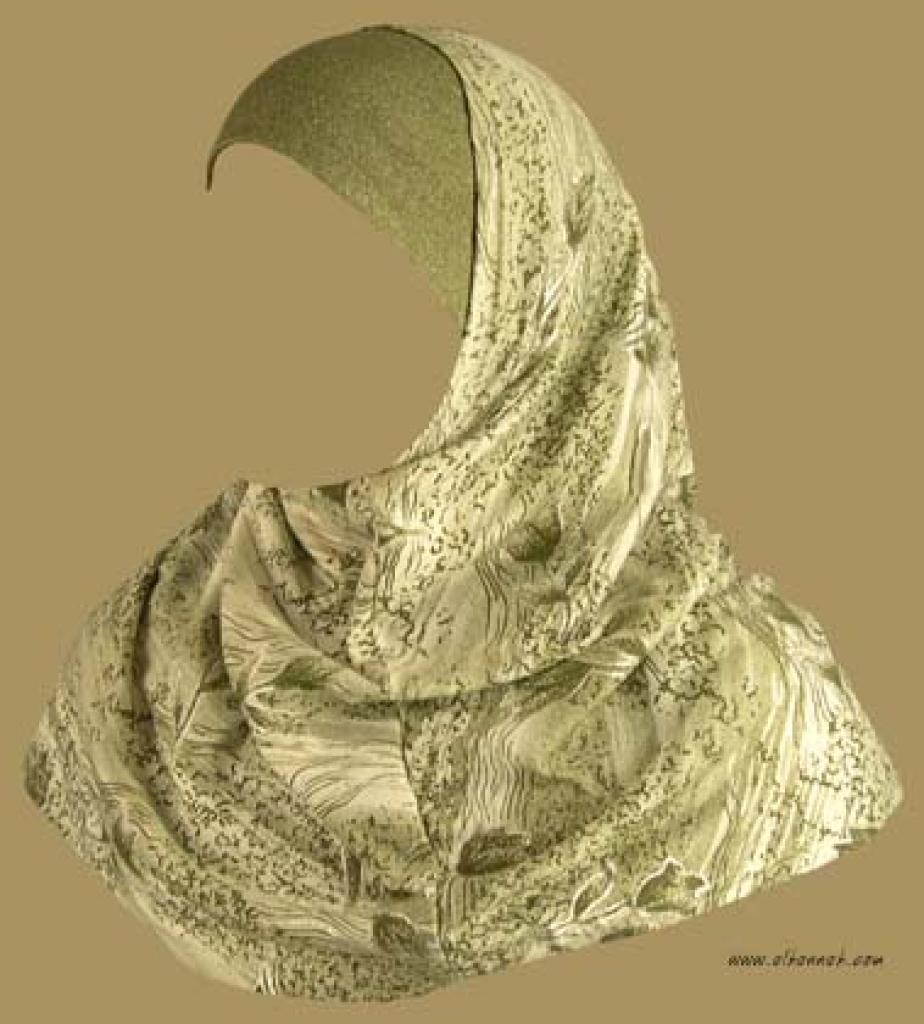 Two Piece Religious Veil   hi934