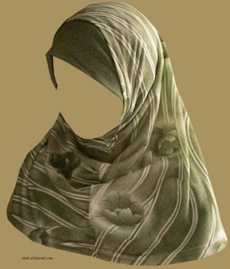 Two Piece Religious Veil   hi940
