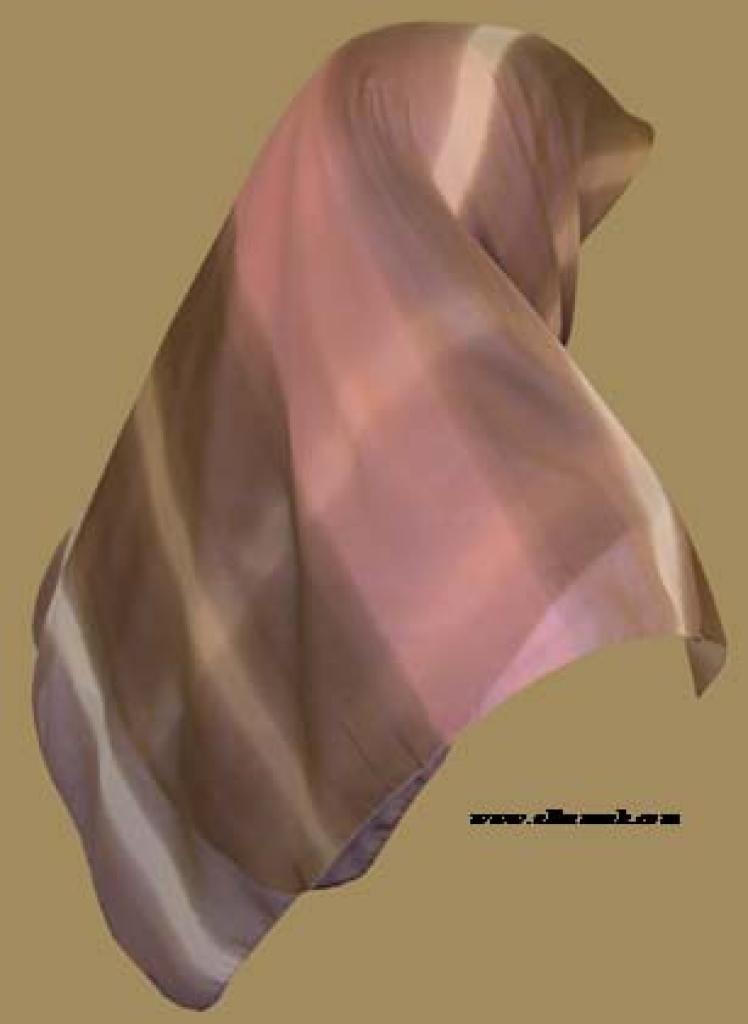 Lightweight Georgette Hijab  hi945