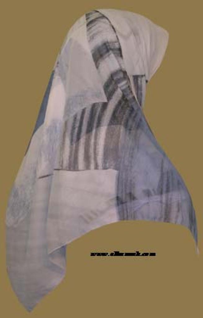Lightweight Georgette Hijab hi946