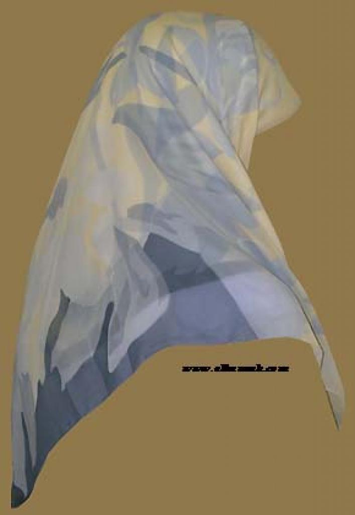 Lightweight Georgette Hijab   hi948