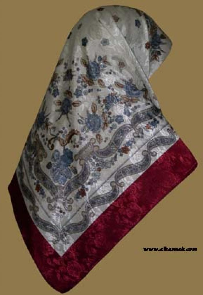 Italian Style Reversible Hijab  hi954