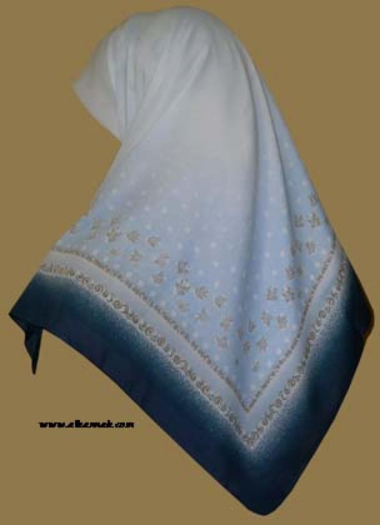 Georgette Chiffon Hijab   hi958