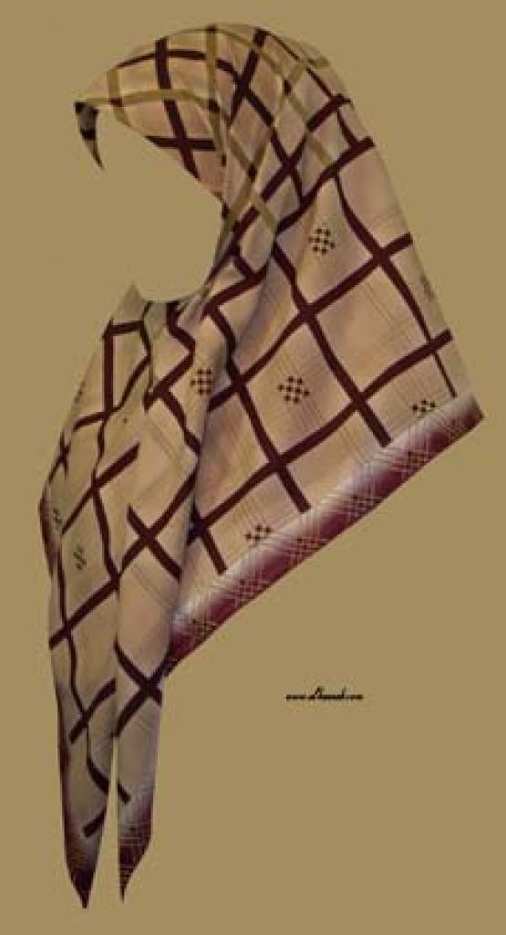 Georgette Chiffon Hijab  hi981