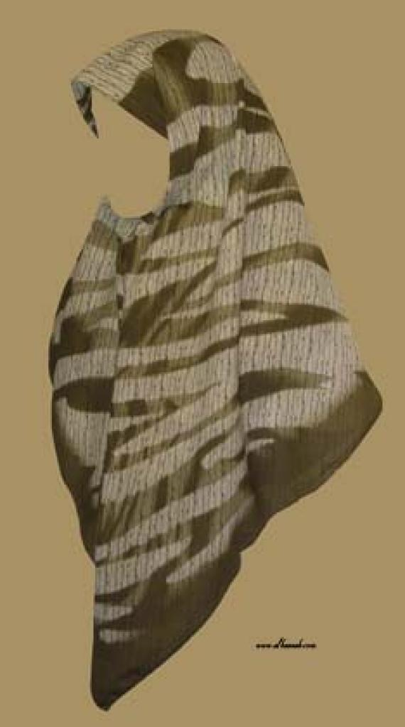 Georgette Chiffon Hijab  hi982