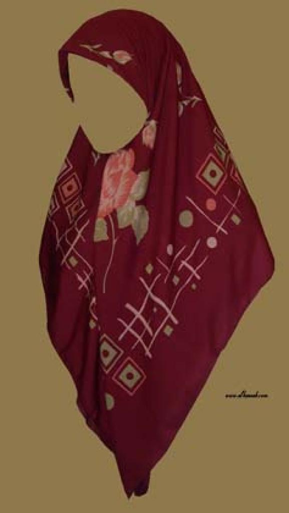 Georgette Chiffon Hijab  hi984