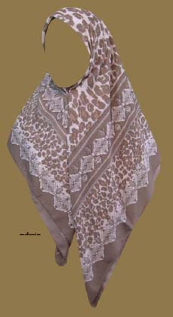 Georgette Chiffon Hijab  hi986