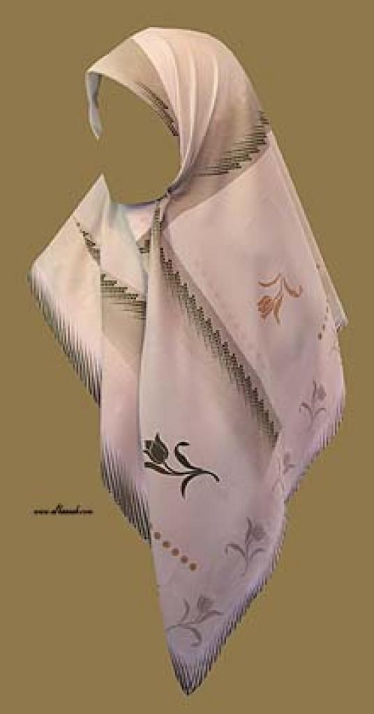 Georgette Chiffon Hijab hi988