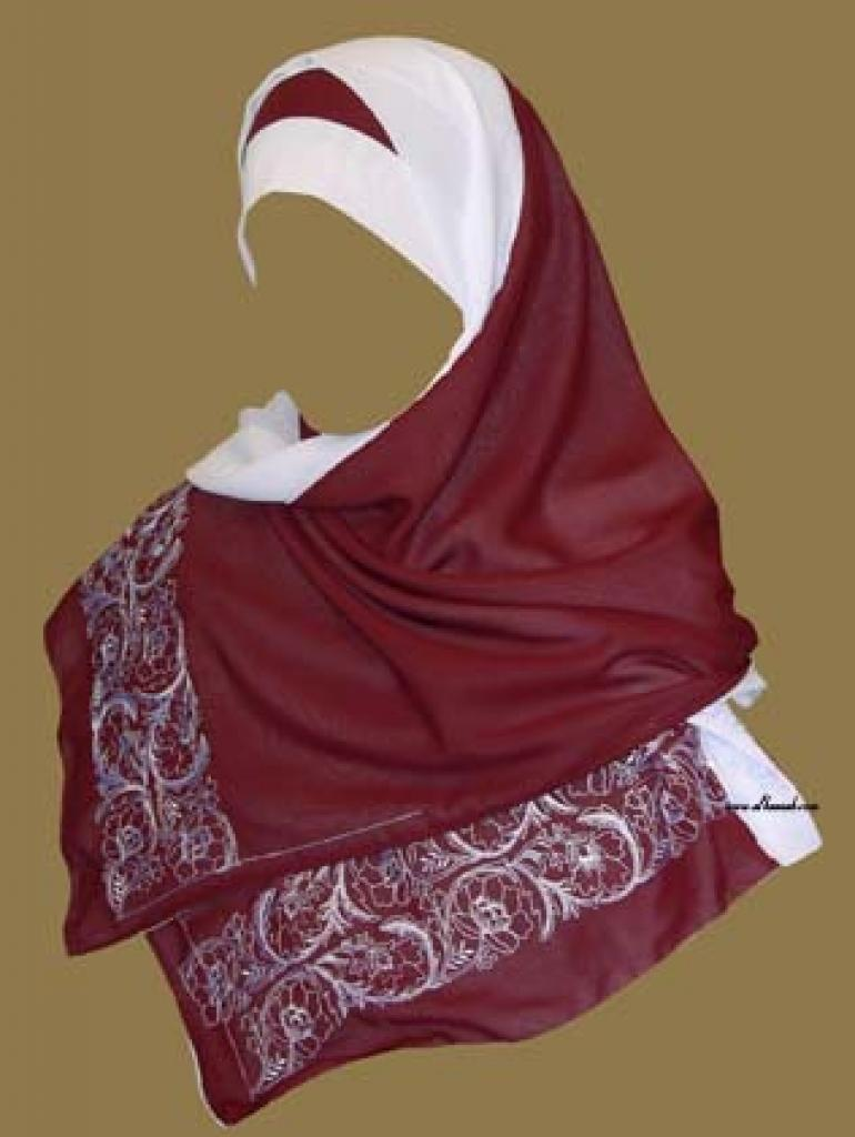Shayla and Under-cap Style Al Amira Hijab hi990