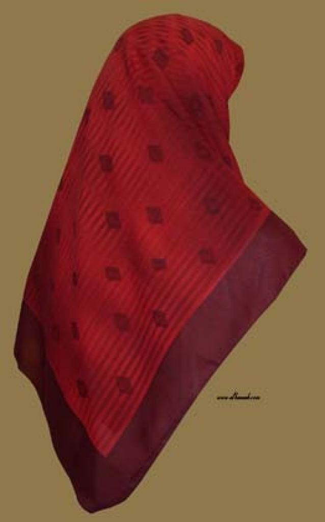 Georgette Chiffon Hijab  hi992